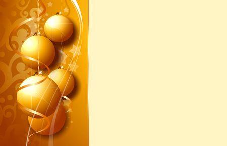 Golden greeting Stock Photo