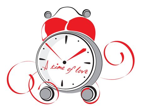 A time of love. Vector illustration Vector