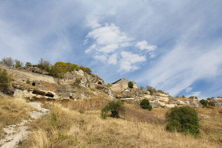 calais: Ancient fortress of Calais in Crimea Stock Photo