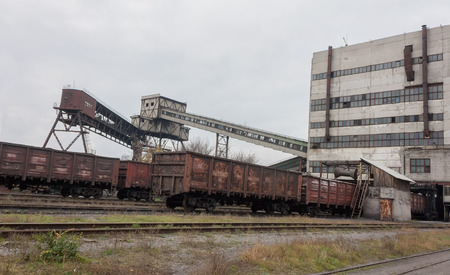 shearer: Train under loading of coal