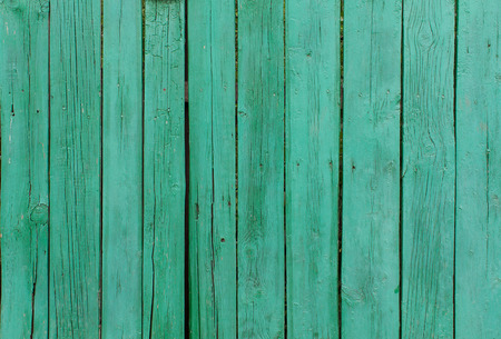 green background texture: Green painted wood planks. Background and texture