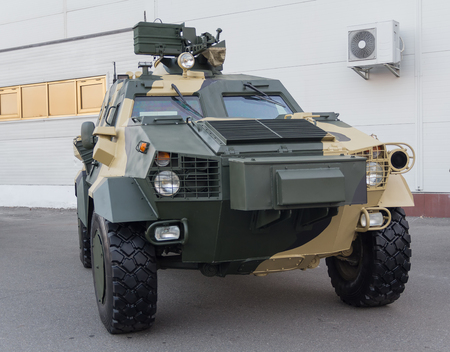 armored: Ukrainian-made armored car Dozor-B. Army and industry Editorial