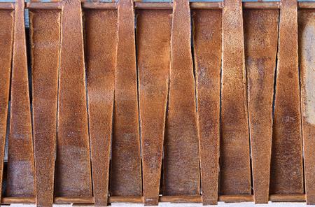 metal textures: Design of rusty metal plates. Backgrounds and textures Stock Photo