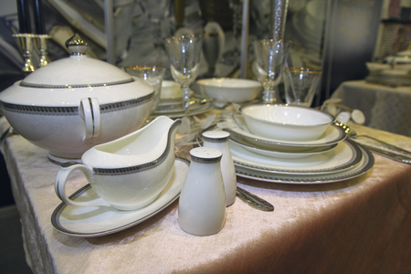 Luxurious linens in the blame for the table