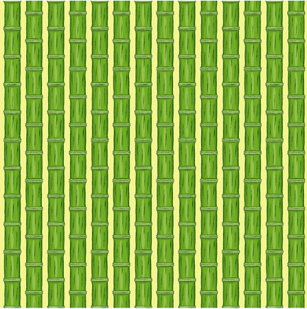 freehand drawing: Green bamboo background. Vector illustration. Freehand drawing