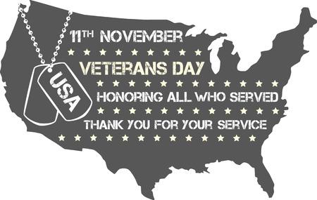 cross armed: veterans day sign illustration design over a blank background
