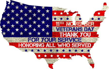 빈 배경 위에 재향 군인의 날 기호 그림 디자인