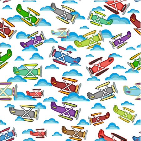 model airplane: airplane pattern, isolated objects on a white background