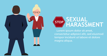 Stop sexual harassment poster illinois