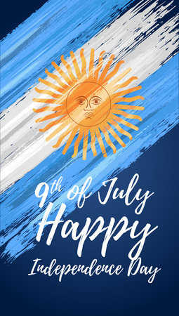 Happy Argentina independence day 9th of July