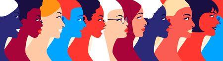 Women community and feminism movement. Zdjęcie Seryjne - 145323158