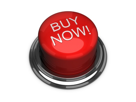 今すぐボタンを購入します。白い背景上に分離。 写真素材