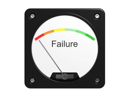 poronienie: Błąd urządzenia pomiarowego. Samodzielnie na białym tle.