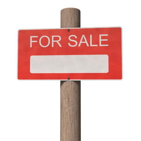 For sale sign Stock Photo - 11275552