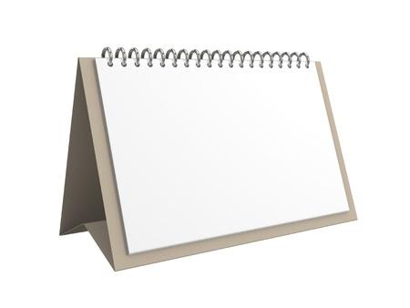 空白のオフィスのカレンダー 写真素材