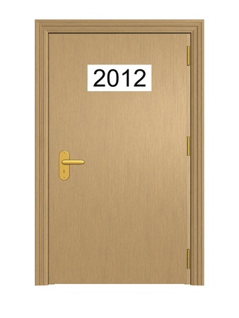 Door to the New Year 2012 photo