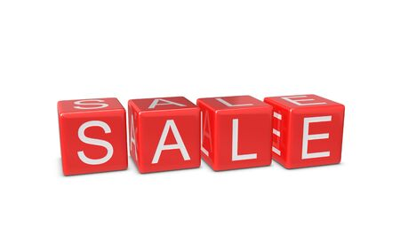 Red sale boxes Stock Photo - 11449833