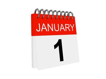 Calendar. New Year 2012 photo
