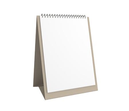Blank office calendar photo