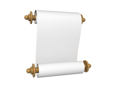 Paper scroll Stock Photo - 11449844