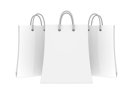 Set of blank shopping bags Stock Photo - 11449848