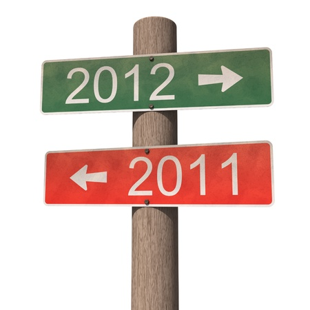 2012 年新年の記号