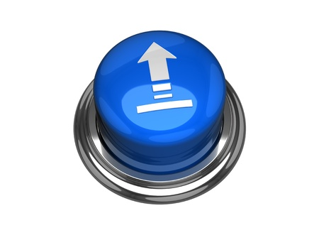 Upload button. Stock Photo - 12384913