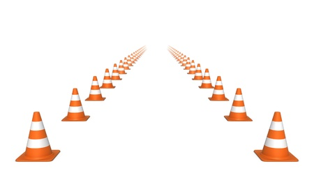 Move straight ahead. Stock Photo - 12384909