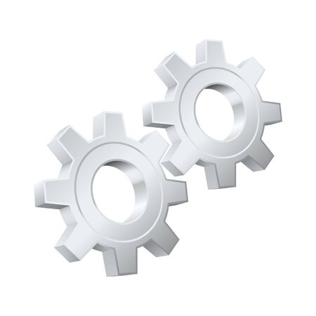 Gears icon Stock Vector - 13403856