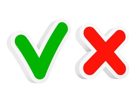 Marcas de verificación vectoriales