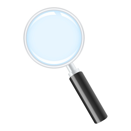pursue: Magnifying glass icon
