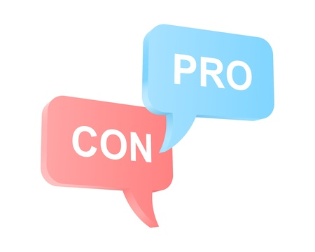 controversy: Pro and con arguments