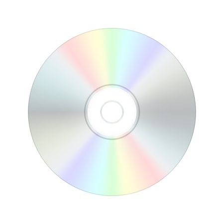 CD digital compact disc Vector