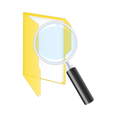 Search icon Stock Vector - 13730753