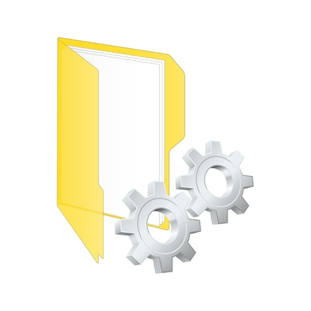 Settings icon Stock Vector - 13730750
