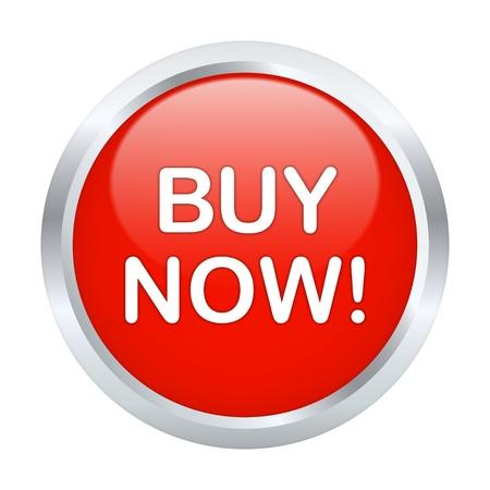 preorder: Buy now button. Vector illustration