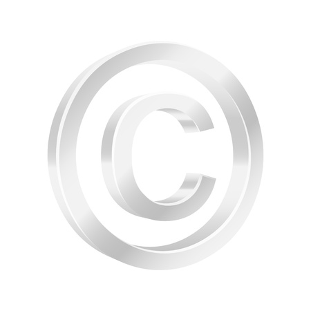Protect copyright symbol Stock Vector - 15824582