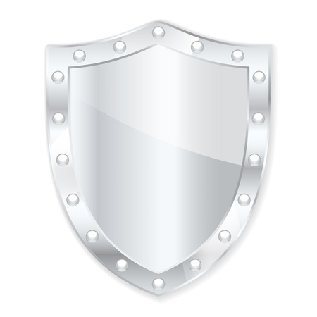 Protection shield  illustration Stock Vector - 16555219