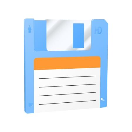 Floppy disk icon. Stock Vector - 18346188