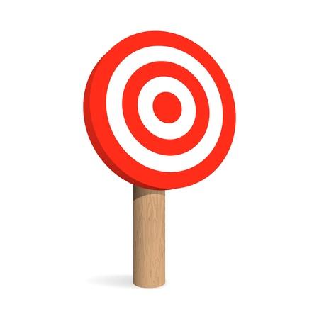 Target board. Stock Vector - 18346213