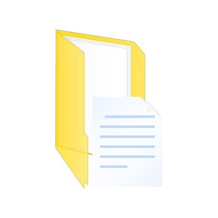New document icon. Stock Vector - 18346211