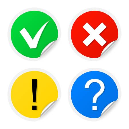answer approve of: Information labels illustration