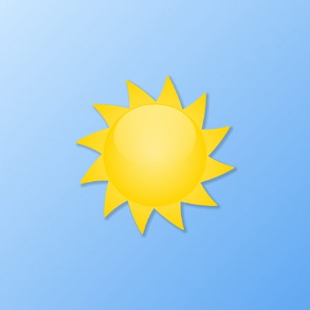 humidity: Weather icons. Sunny weather illustration.