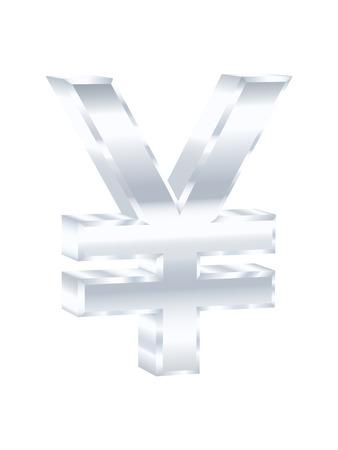 yen sign: Muestra de Yenes. Ilustraci�n del vector.