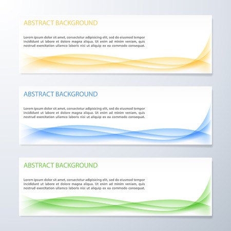 page curl: Abstract wave background. Vector illustration.