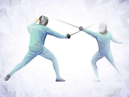 Fencing sports clipart. Free download transparent .PNG | Creazilla