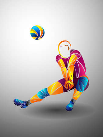 international volleyball, volleyball live, play volleyball, women volleyball, volleyball player 写真素材 - 122698851