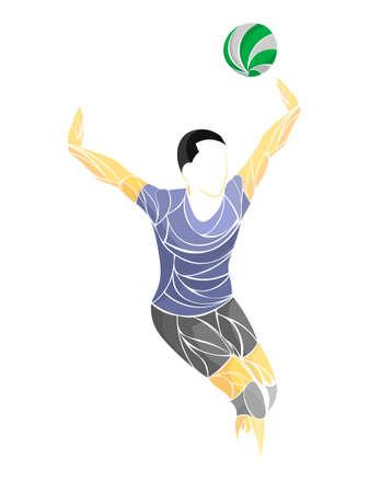 international volleyball, volleyball live, play volleyball, women volleyball, volleyball player Standard-Bild - 122698887