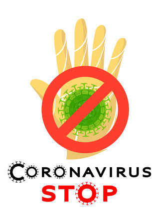 Earth, planet virus. Bacteria, coronavirus, microbe green vector. Coronaviruses cause diseases in mammals, humans. Deadly type of virus 2019-nCoV. Novel Coronavirus 2019. Pneumonia disease. The spread 向量圖像