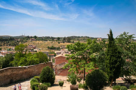 mancha: The old part of Toledo city in Central Spain, capital of province of Toledo and the Autonomous community of Castile � La Mancha. May 2006 Editorial